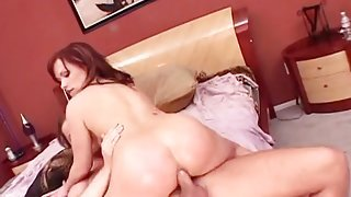 Big toy and hard cock up the ass of Katja Kassin
