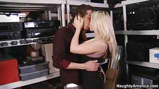 Madison Ivy & Xander Corvus in Naughty Office