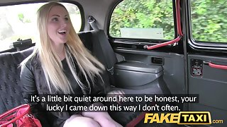 FakeTaxi: Breathtaking scottish blond with great marangos and body