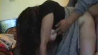 Indian Bhabhi Giving Blowjob To Hubby Then Fucked